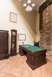 Inre av kabinettet Arkivbild