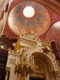 Inre av kupolen av den Granada domkyrkan, Granada, Spanien Royaltyfri Bild