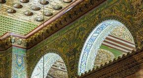 Inre av kupolen på vagga israel jerusalem Royaltyfri Bild