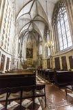Inre av kyrkan av den Teutonic beställningen i Wien Arkivbilder