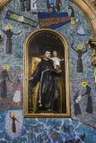 Inre av kyrkan av den Franciscan beställningen av pojkarna av th royaltyfri bild