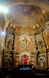 Inre av kyrkliga kapellklosterbrodersymboler Royaltyfria Bilder