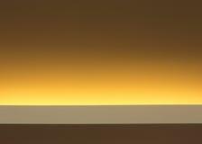 Inre av ljus på det moderna taket Arkivbild