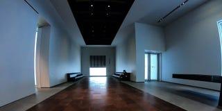 Inre av Louvre Abu Dhabi Arkivfoton