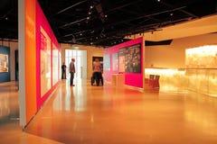 Inre av mänsklig rättighetmuseet royaltyfria bilder