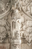 Inre av Magdeburgs domkyrka, Magdeburg, Tyskland royaltyfri bild