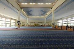 Inre av Masjid Universiti Putra Malaysia på Serdang, Selangor, Malaysia Royaltyfri Bild