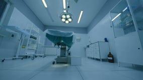 Inre av modernt fungeringsrum stock video