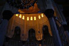 Inre av moskén Fotografering för Bildbyråer