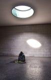 Inre av Neue Wache, Berlin, Tyskland Arkivfoton