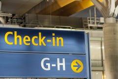 Inre av Oslo Gardermoen den internationella flygplatsen Royaltyfria Foton