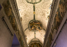 Inre av Palazzo Barberini, Rome, Italien Royaltyfri Fotografi