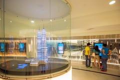Inre av Petronas torn Fotografering för Bildbyråer