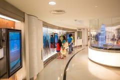 Inre av Petronas torn Royaltyfria Foton