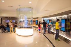 Inre av Petronas torn Arkivfoton