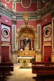 Inre av San Ildefonso Church eller jesuit kyrkliga Iglesia de San Idelfonso, Toledo, Spanien Fotografering för Bildbyråer