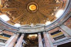 Inre av Sant' Andrea al Quirinale Royaltyfri Fotografi