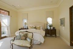 Inre av sovrummet Royaltyfri Bild