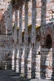 Inre av St Sofia Church i Nesebar Royaltyfri Fotografi