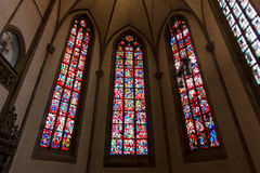 Inre av Stiftskirche den college- kyrkan Royaltyfri Bild