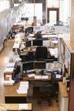 Inre av tomma arkitekts kontor royaltyfri bild