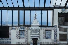 Inre av Victor Hugo hus på Guernsey Fotografering för Bildbyråer