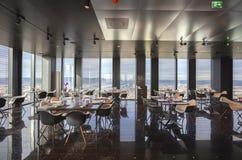 Inre av Wien den moderna restaurangen i himmel Royaltyfri Fotografi