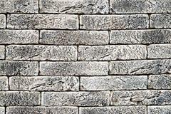 Inre backgro för abstrakt begrepp för stil för tappning för tegelstenvägg ton blekt Arkivfoto