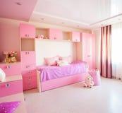 Inre barnkammare för flicka Arkivbild