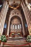 Inre Basilica de Covadonga Royaltyfri Fotografi
