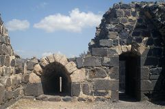 inre belvoirfästningport Arkivbild