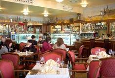 Storslagna Café Praha i Prague Royaltyfri Fotografi