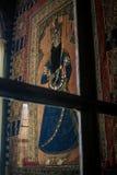 Inre bild för Krim Vorontsov slott av den orientaliska mannen Arkivbild