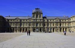 Inre borggård för Louvre Royaltyfri Fotografi