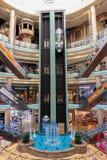 Inre central Souq mega galleria i Sharjah UAE Royaltyfri Fotografi