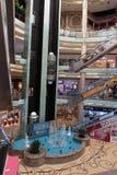 Inre central Souq mega galleria i Sharjah UAE Fotografering för Bildbyråer