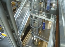 Inre centralstation av Berlin Arkivbild