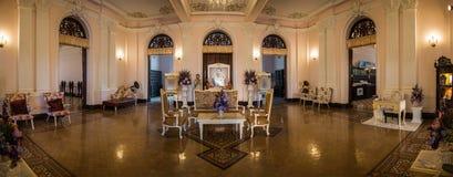 Inre Chao Phya Abhaibhubejhr Museum Panorama Royaltyfri Fotografi