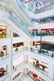 Inre Chaoyang storslagna Joy City Shopping Mall, Peking, Kina Royaltyfri Fotografi