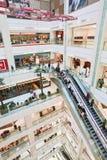 Inre Chaoyang storslagna Joy City Shopping Mall, Peking, Kina Royaltyfria Bilder