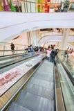 Inre Chaoyang storslagna Joy City Shopping Mall, Peking, Kina Arkivbilder