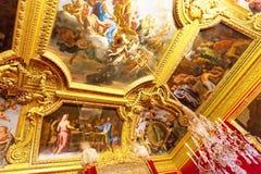 Inre Chateau av Versailles, Royaltyfri Foto