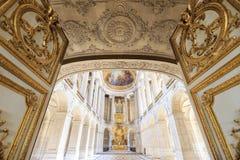 Inre Chateau av Versailles, Versailles, Frankrike Arkivfoto