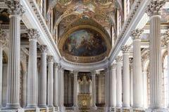 Inre Chateau av Versailles, Versailles, Frankrike Royaltyfri Foto