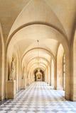Inre Chateau av Versailles, Versailles, Frankrike Arkivbilder