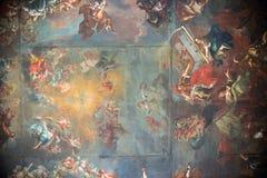 Inre Cistercian abbotskloster i Lubiaz Royaltyfria Bilder