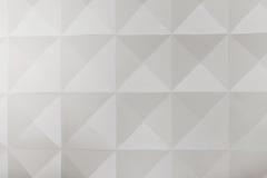 Inre deaisnvägg med geometriska former arkivfoton