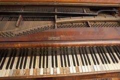 Inre piano Arkivbilder