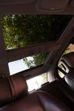 Inre (Designo) av använd Mercedes-Benz S-grupp S350 länge (W221 Royaltyfria Bilder