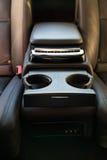 Inre (Designo) av använd Mercedes-Benz S-grupp S350 länge (W221 Royaltyfria Foton